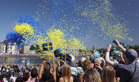 Swedes celebrating their national day | Picture: Ola Ericson/imagebank.sweden.se