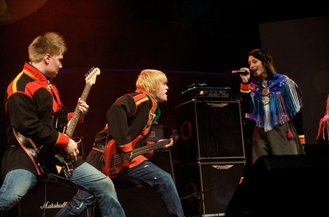 'SomBy' rock band from the Finnish side of Sápmi won the 2009 contest