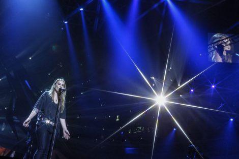 Anouk Eurovision rehearsals