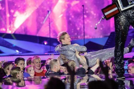 Latvia rehearsals