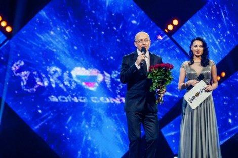 Eurovizijos host
