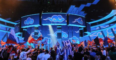 Eurovision 2009 stage