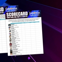 Print out your scorecards for the Eurovision semi-finals!