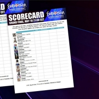 Get your scorecard for Eurovision 2014 final!