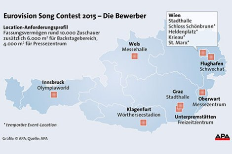 ESC 2015 host cities